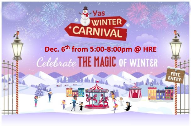 Winter Carnival is coming......