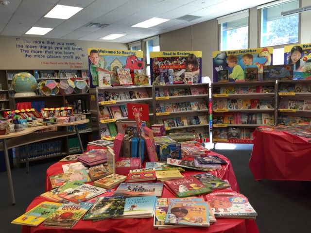 Welcome Scholastic Book Fair!